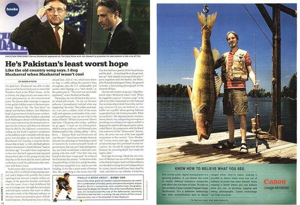 Article Preview: He's Pakistan's least worst hope, OCT. 16th 2006 2006 | Maclean's