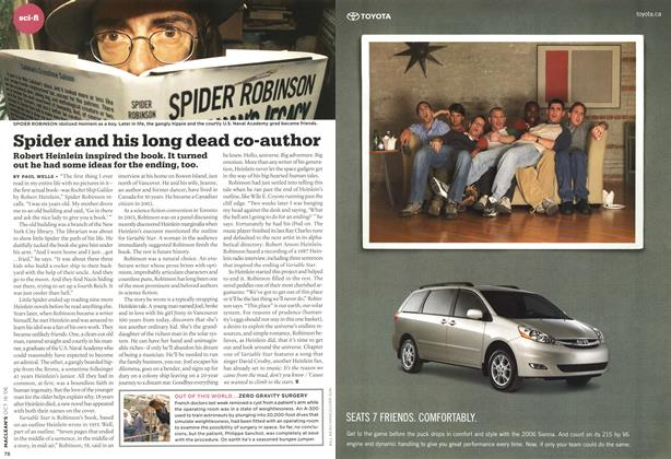 Article Preview: Spider and his long dead co-author, OCT. 16th 2006 2006 | Maclean's