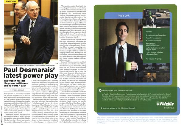 Article Preview: Paul Desmarais' latest power play, OCT. 23rd 2006 2006 | Maclean's