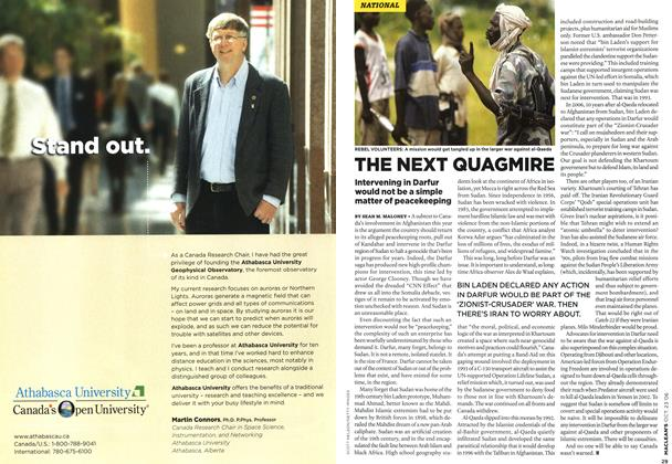 Article Preview: THE NEXT QUAGMIRE, OCT. 23rd 2006 2006 | Maclean's