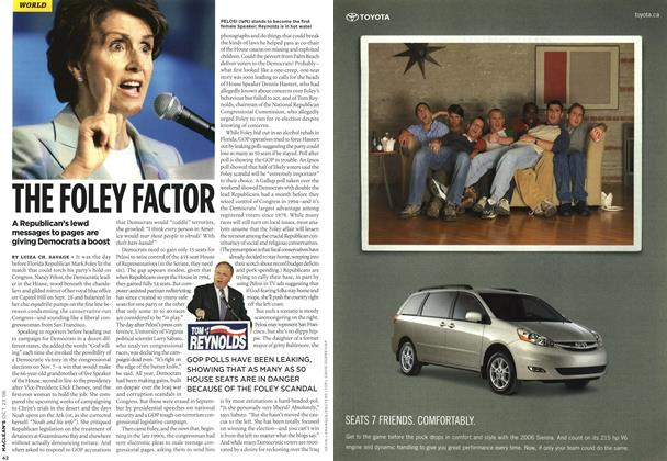 Article Preview: THE FOLEY FACTOR, OCT. 23rd 2006 2006 | Maclean's