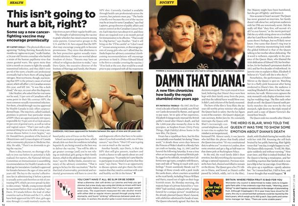 Article Preview: DAMN THAT DIANA!, OCT. 23rd 2006 2006 | Maclean's