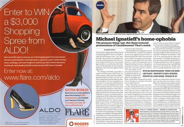 Article Preview: Michael Ignatieff's home-ophobia, OCT. 23rd 2006 2006 | Maclean's