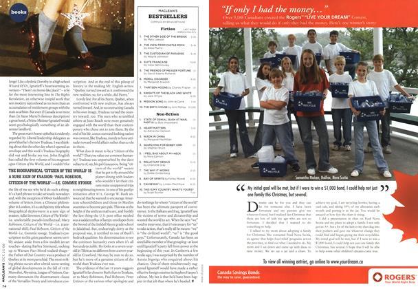Article Preview: MACLEAN'S BESTSELLERS, OCT. 23rd 2006 2006 | Maclean's