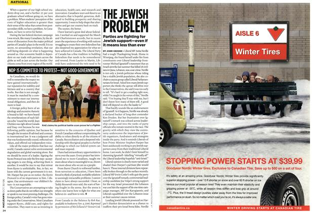 Article Preview: THE JEWISH PROBLEM, OCT. 30th 2006 2006 | Maclean's