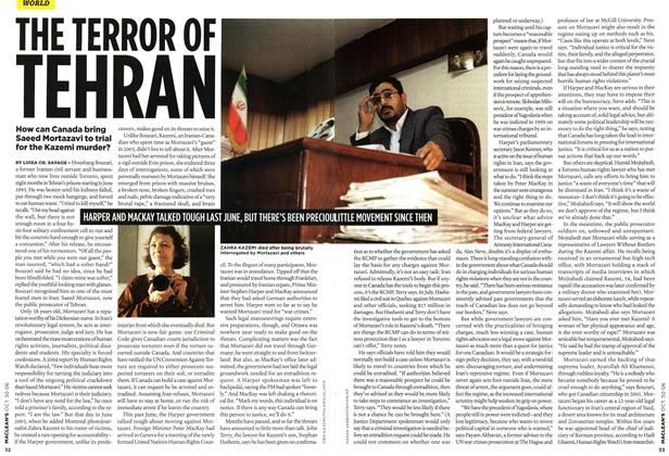 Article Preview: THE TERROR OF TEHRAN, OCT. 30th 2006 2006 | Maclean's