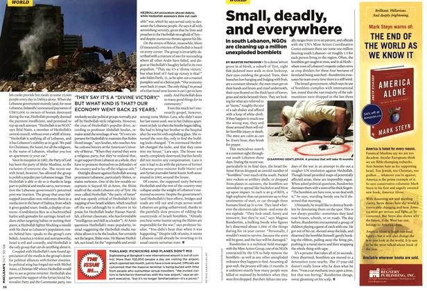 Article Preview: Small, deadly, and everywhere, OCT. 30th 2006 2006 | Maclean's