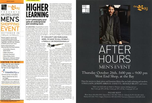 Article Preview: HIGHER LEARNING, OCT. 30th 2006 2006 | Maclean's