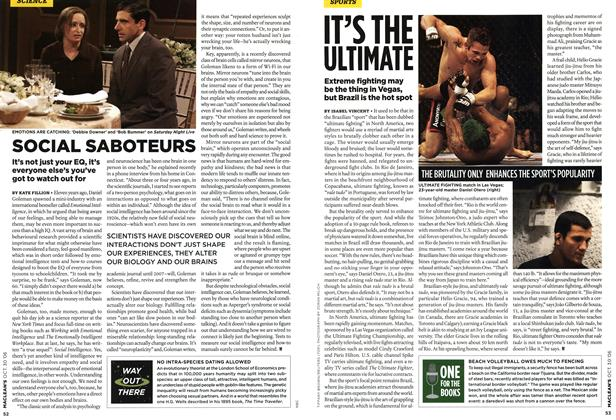 Article Preview: SOCIAL SABOTEURS, OCT. 30th 2006 2006 | Maclean's
