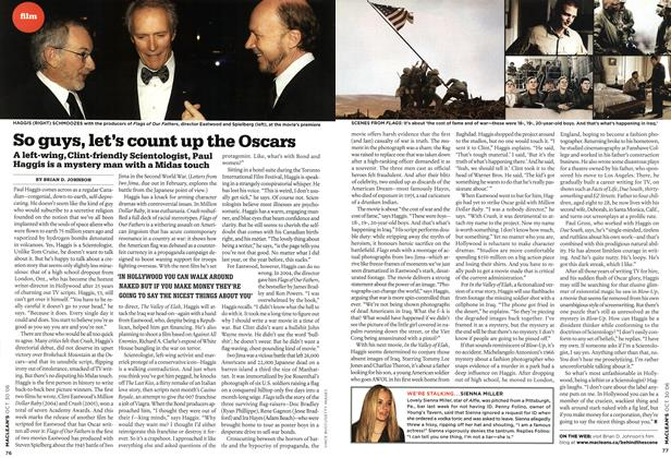 Article Preview: So guys, let's count up the Oscars, OCT. 30th 2006 2006 | Maclean's