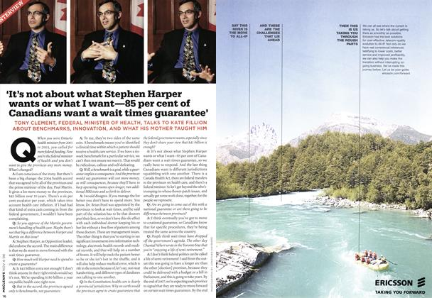 Article Preview: INTERVIEW, NOV. 6th 2006 2006 | Maclean's