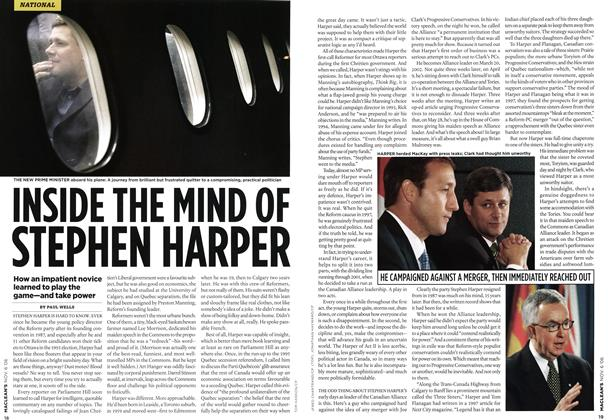 Article Preview: INSIDE THE MIND OF STEPHEN HARPER, NOV. 6th 2006 2006 | Maclean's
