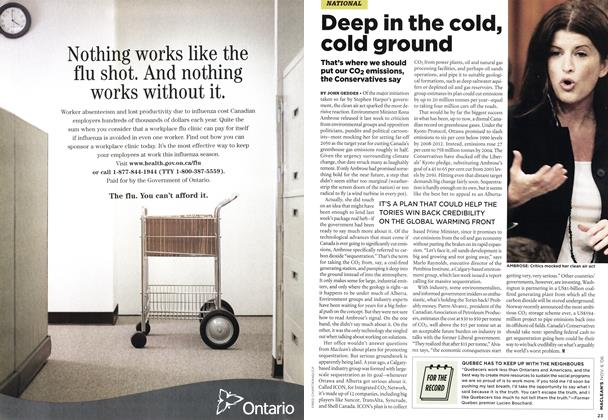Article Preview: Deep in the cold, cold ground, NOV. 6th 2006 2006 | Maclean's