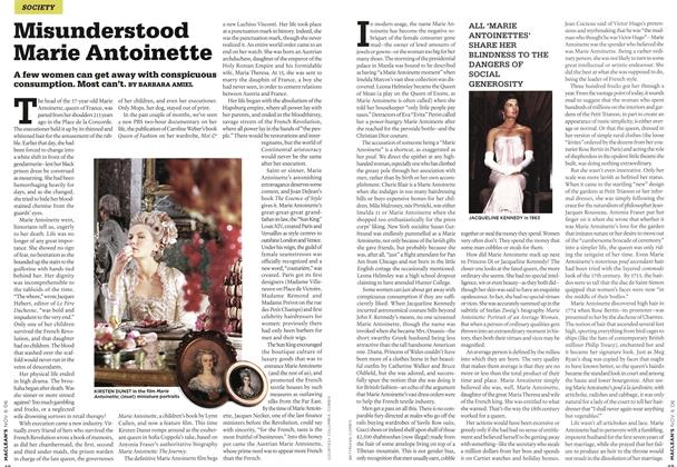 Article Preview: Misunderstood Marie Antoinette, NOV. 6th 2006 2006 | Maclean's