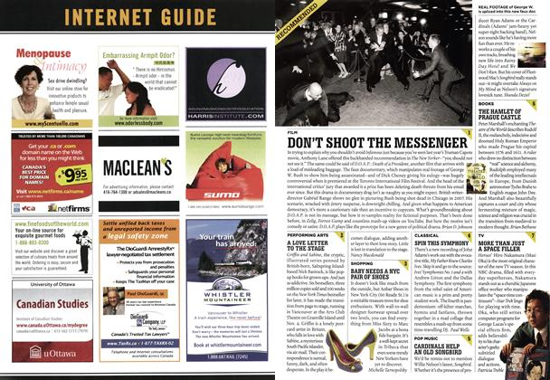 Article Preview: DON'T SHOOT THE MESSENGER, NOV. 6th 2006 2006 | Maclean's