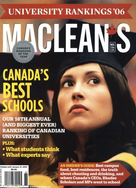 Issue: - NOV. 13th 2006 | Maclean's