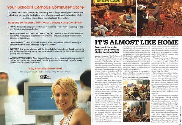 Article Preview: IT'S ALMOST LIKE HOME, NOV. 13th 2006 2006   Maclean's