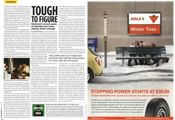 Article Preview: TOUGH TO FIGURE, NOV. 13th 2006 2006 | Maclean's