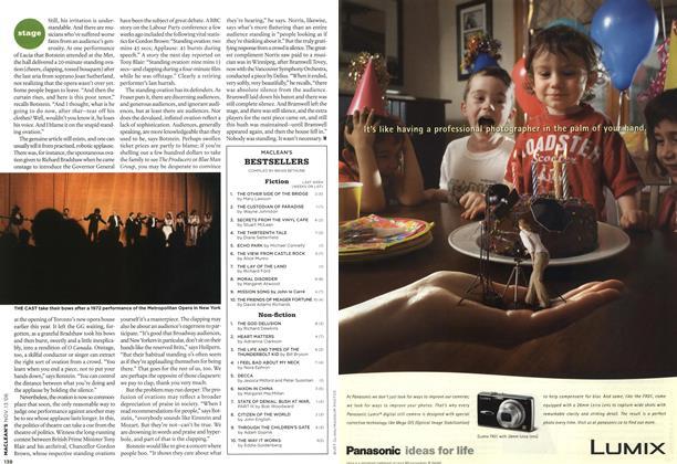 Article Preview: BEST SELLERS, NOV. 13th 2006 2006 | Maclean's