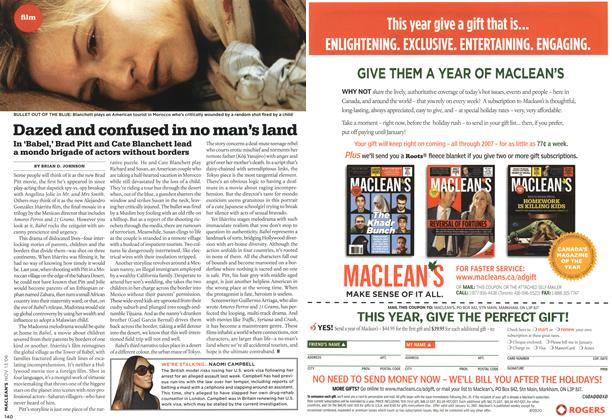 Article Preview: Dazed and confused in no man's land, NOV. 13th 2006 2006 | Maclean's