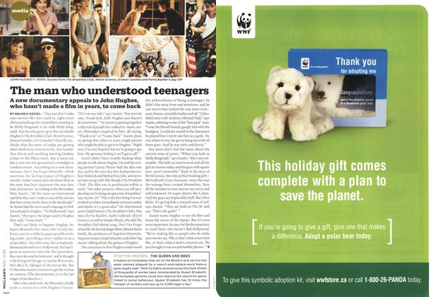 Article Preview: The man who understood teenagers, NOV. 13th 2006 2006   Maclean's