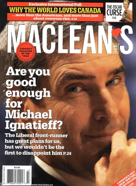 Issue: - NOV. 20th 2006 | Maclean's
