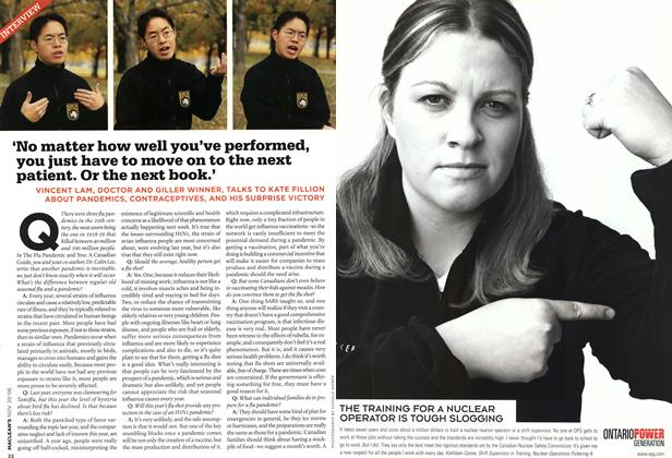 Article Preview: INTERVIEW, NOV. 20th 2006 2006 | Maclean's