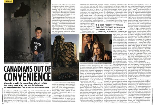 Article Preview: CANADIANS OUT OF CONVENIENCE, NOV. 20th 2006 2006 | Maclean's