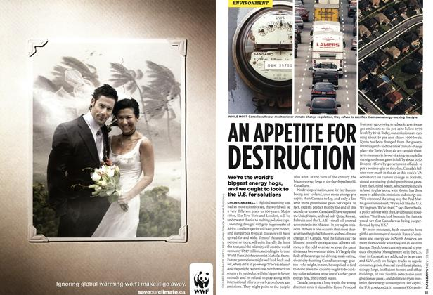 Article Preview: AN APPETITE FOR DESTRUCTION, NOV. 20th 2006 2006 | Maclean's