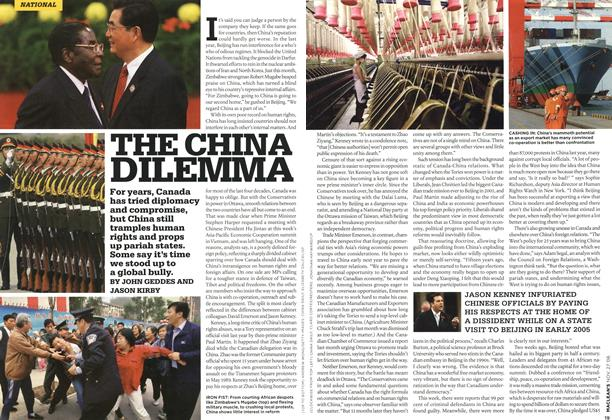 Article Preview: THE CHINA DILEMMA, NOV. 27th 2006 2006 | Maclean's