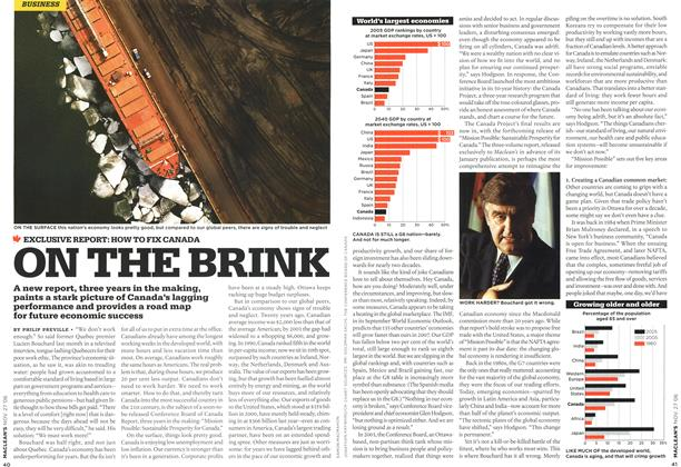 Article Preview: ON THE BRINK, NOV. 27th 2006 2006 | Maclean's