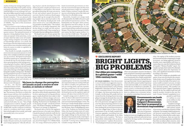 Article Preview: BRIGHT LIGHTS, BIG PROBLEMS, NOV. 27th 2006 2006   Maclean's