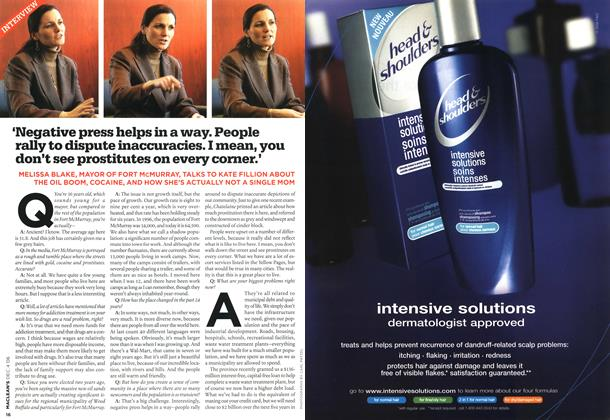 Article Preview: INTERVIEW, DEC. 4th 2006 2006 | Maclean's