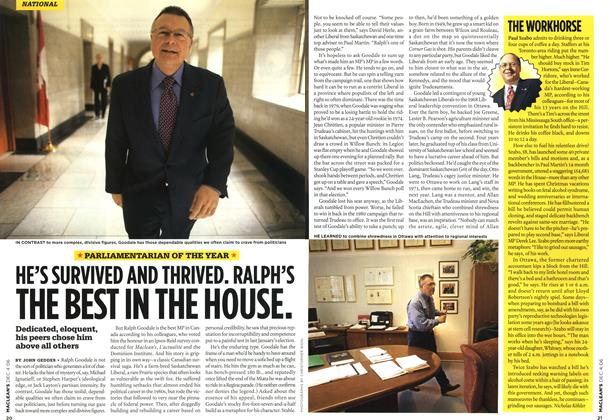 Article Preview: HE'S SURVIVED AND THRIVED. RALPH'S THE BEST IN THE HOUSE., DEC. 4th 2006 2006 | Maclean's