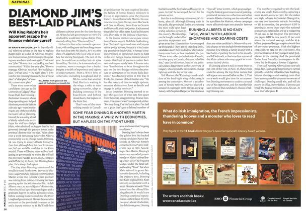 Article Preview: DIAMOND JIM'S BEST-LAID PLANS, DEC. 4th 2006 2006 | Maclean's