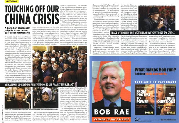 Article Preview: TOUCHING OFF OUR CHINA CRISIS, DEC. 4th 2006 2006 | Maclean's