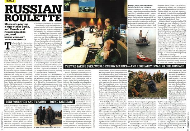 Article Preview: RUSSIAN ROULETTE, DEC. 4th 2006 2006 | Maclean's