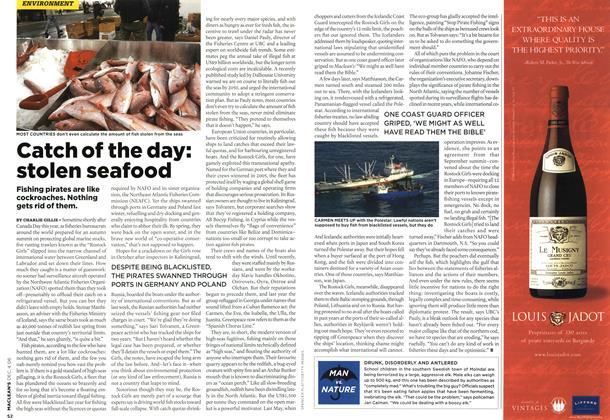 Article Preview: Catch of the day: stolen seafood, DEC. 4th 2006 2006 | Maclean's