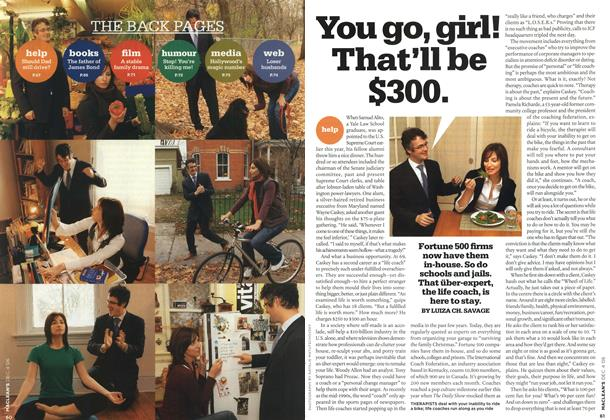 Article Preview: You go, girl! That'll be $300., DEC. 4th 2006 2006 | Maclean's