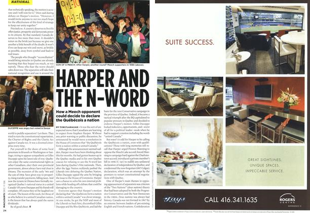 Article Preview: HARPER AND THE N-WORD, DEC. 11th 2006 2006 | Maclean's