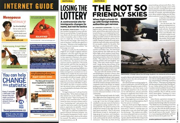Article Preview: LOSING THE LOTTERY, DEC. 11th 2006 2006 | Maclean's