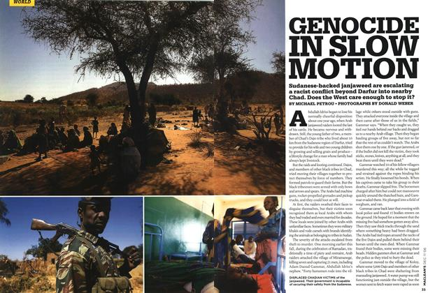 Article Preview: GENOCIDE IN SLOW MOTION, DEC. 11th 2006 2006 | Maclean's