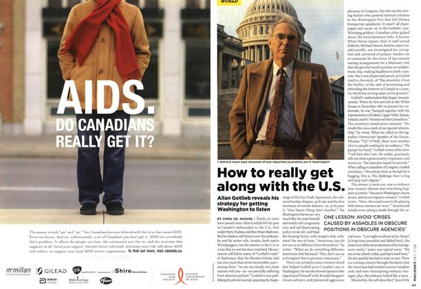 Article Preview: How to really get along with the U.S., DEC. 11th 2006 2006 | Maclean's