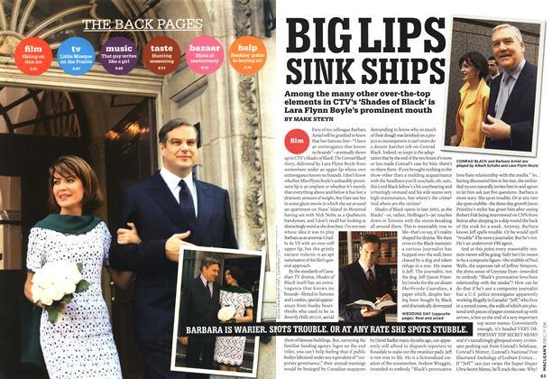 Article Preview: BIG LIPS SINK SHIPS, DEC. 11th 2006 2006 | Maclean's