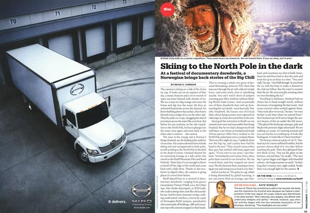 Article Preview: Skiing to the North Pole in the dark, DEC. 11th 2006 2006 | Maclean's