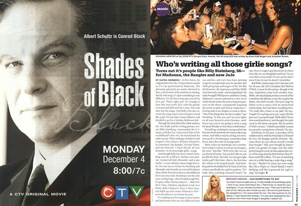Article Preview: Who's writing all those girlie songs?, DEC. 11th 2006 2006 | Maclean's