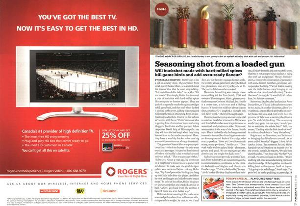 Article Preview: Seasoning shot from a loaded gun, DEC. 11th 2006 2006 | Maclean's