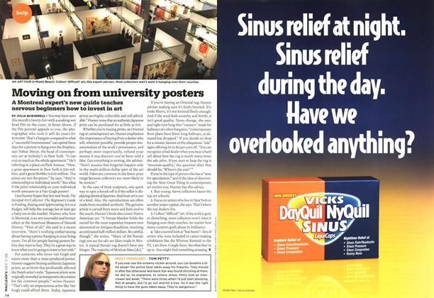 Article Preview: Moving on from university posters, DEC. 11th 2006 2006 | Maclean's