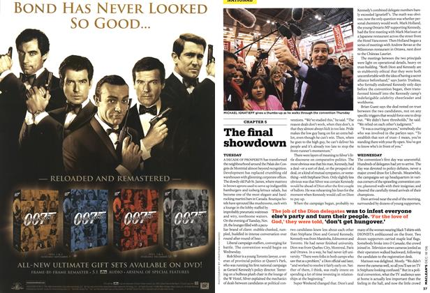 Article Preview: The final showdown, December 2006 | Maclean's