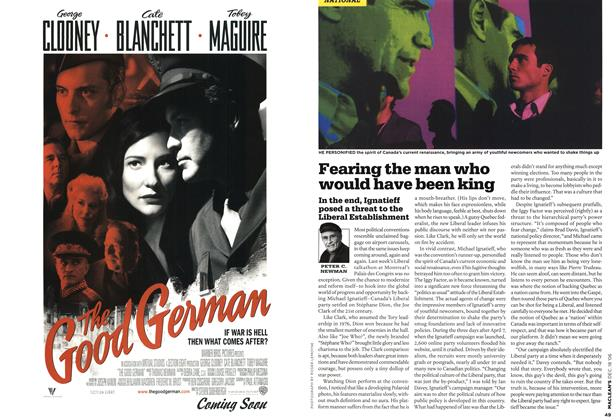 Article Preview: Fearing the man who would have been king, December 2006 | Maclean's
